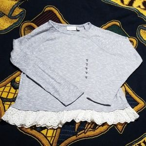 Girls NWT Childrens Place Lpng Sleeve Shirt